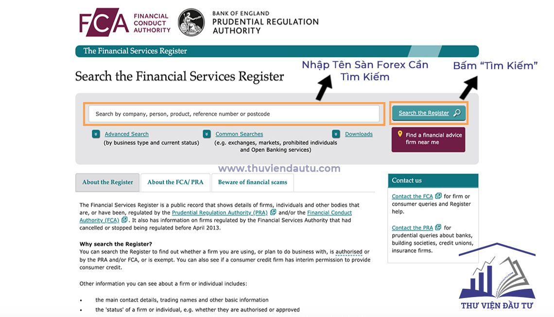 Cách kiểm tra giấy phép sàn forex giấy phép FCA