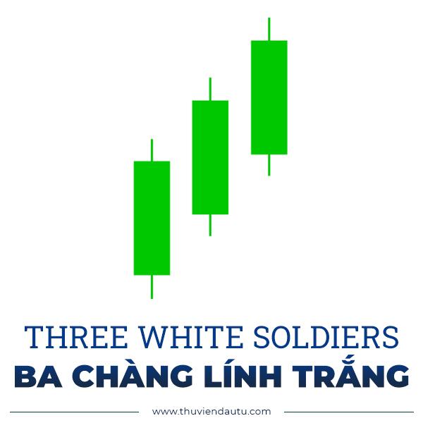 mo hinh nen ba chang linh trang three white soldiers