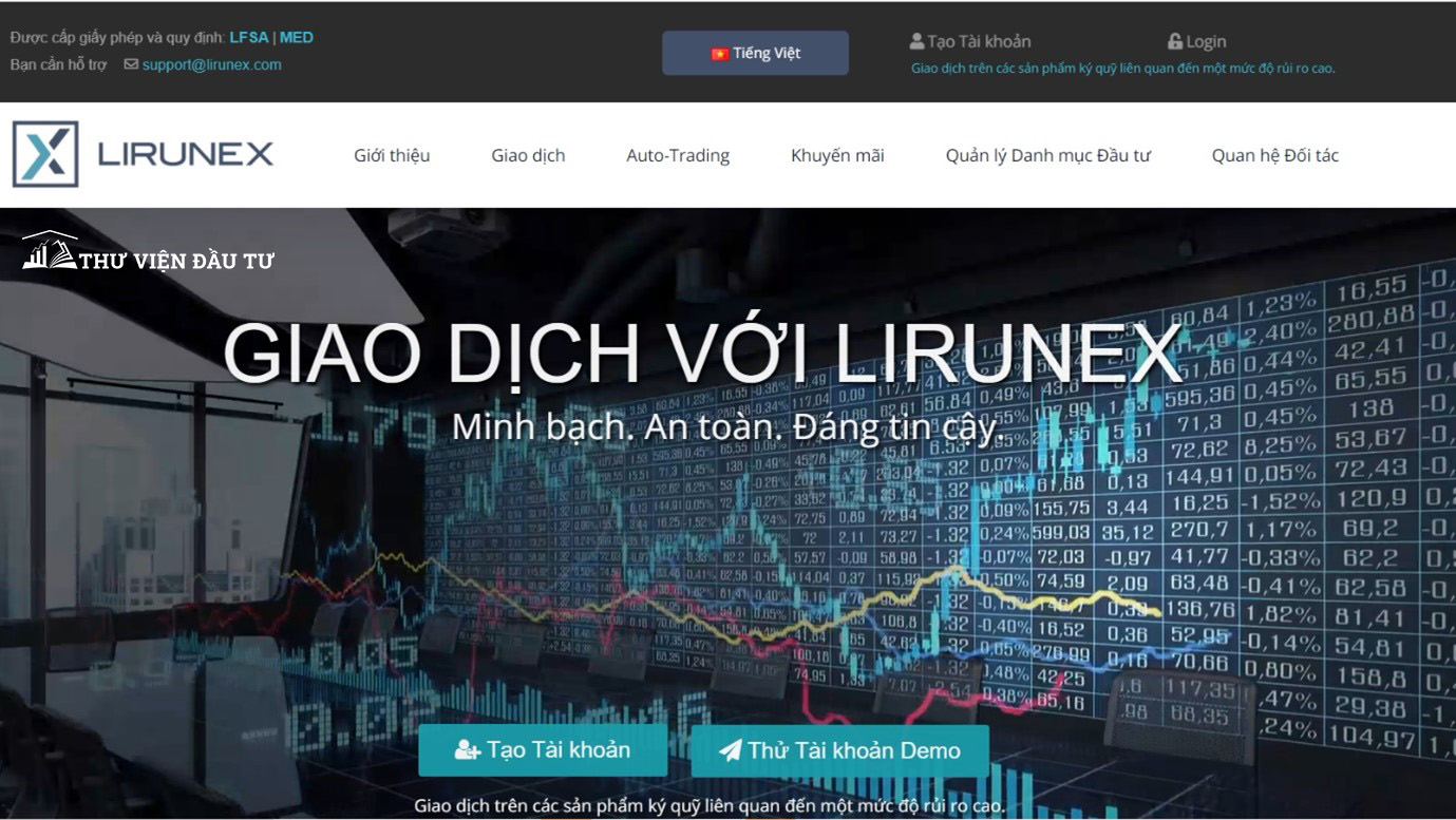 giao dich san forex